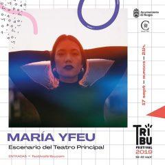 Concierto de María Yfeu. Festival Tribu 2019