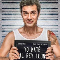 Dani Delacámara. Yo maté al Rey León en Teatro Reina Victoria en Madrid