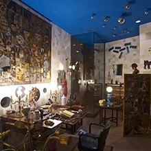 El despacho de Ramón Gómez de la Serna en Museo de Arte Contemporáneo en Madrid