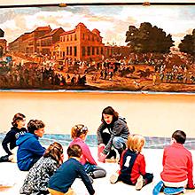 Family Thyssen en Museo Nacional Thyssen-Bornemisza en Madrid