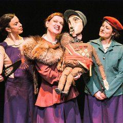 La sección (Mujeres en el fascismo español) en Teatro del Barrio en Madrid