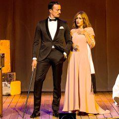 Muerte en el Nilo, teatro en Pazo da Cultura de Pontevedra