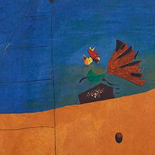 Paysage (Paysage au coq), de Miró en Museo Nacional Centro de Arte Reina Sofía en Madrid