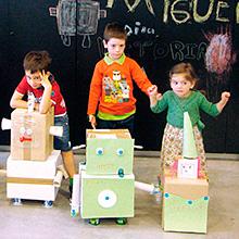Talleres del Espacio Fundación Telefónica en Madrid