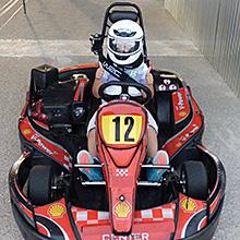 Tanda de karting infantil en Passeig dels Furs en Valencia
