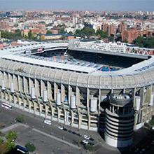 Tour del Bernabéu en Avenida Concha Espina en Madrid