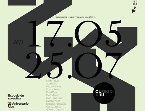 Exposición 25 años-25 obras de Código UBU