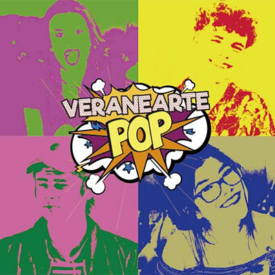 VeraneArte Pop en Cuarta Pared en Ercilla en Madrid
