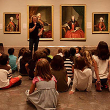 Visitas didácticas del Museo del Prado en Museo Nacional del Prado en Madrid
