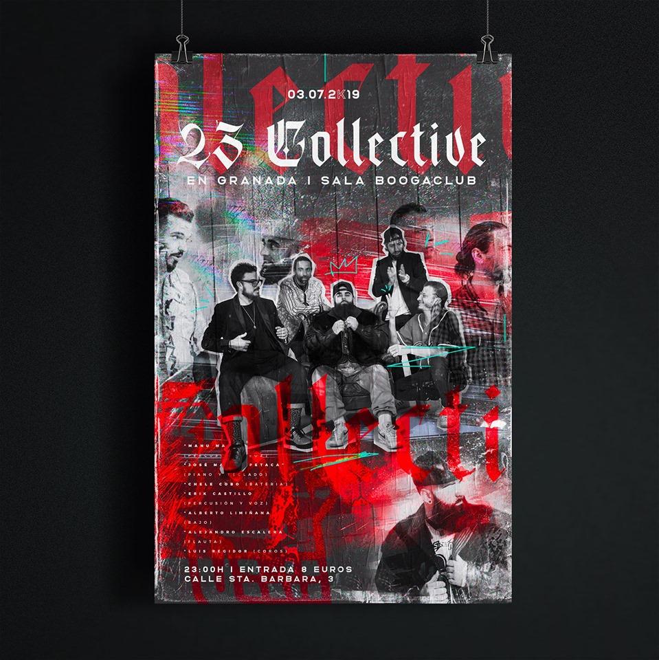 23 Collective en concierto en la Sala BoogaClub