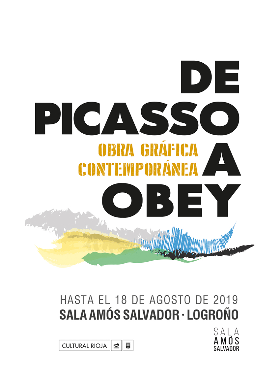Exposición de Picasso a Obey. Obra gráfica contemporánea