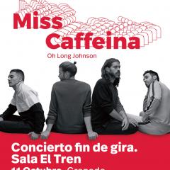 Miss Caffeina pone fin a la gira en la sala El Tren de Granada