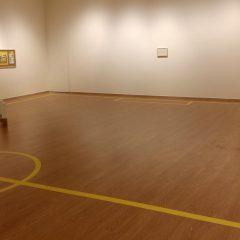 Señales amarillas de Manuel Senén en el Palacio de los Condes de Gabia