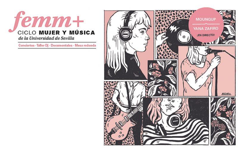 FEMM+ #2 Ciclo Mujer y Música de la Universidad de Sevilla en el CICUS