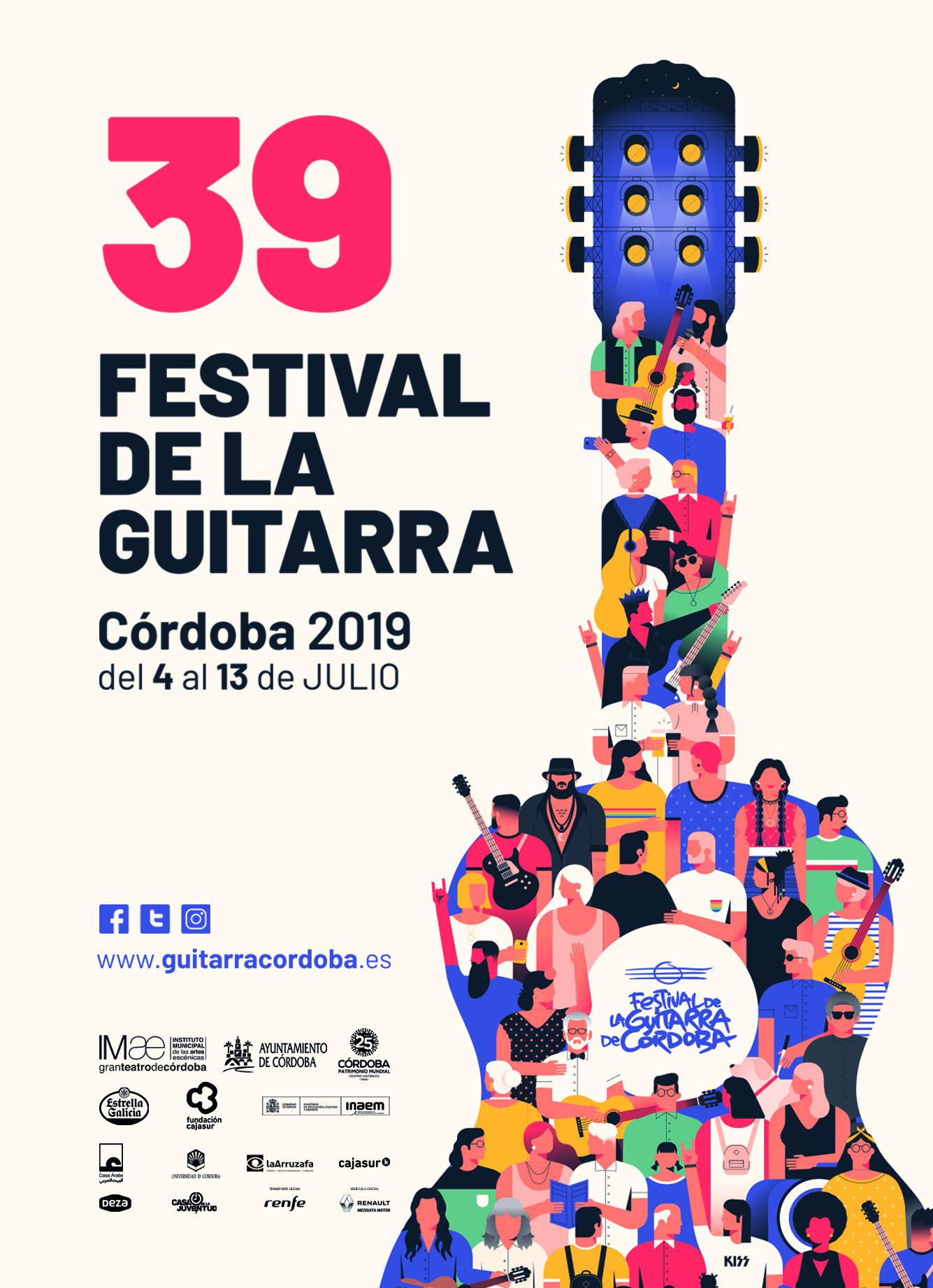 El Festival de la Guitarra de Córdoba  2019 une música y patrimonio