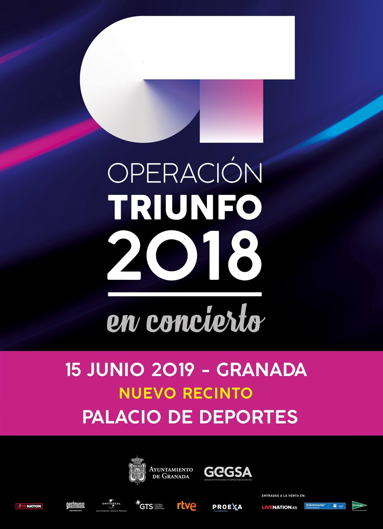 Cambio de recinto para Operación Triunfo en Granada