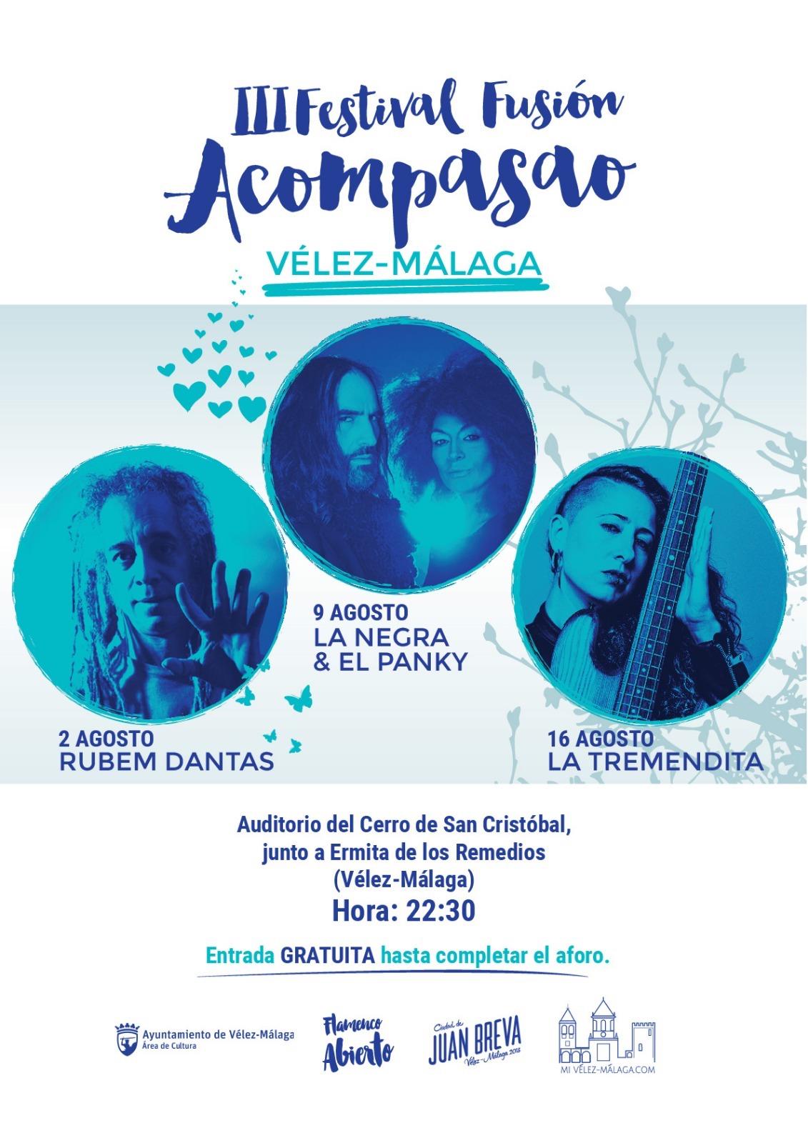 III Festival Acompasao de Flamenco-fusión en Vélez-Málaga