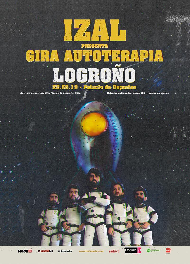 Izal en concierto en Logroño con su Gira Autoterapia