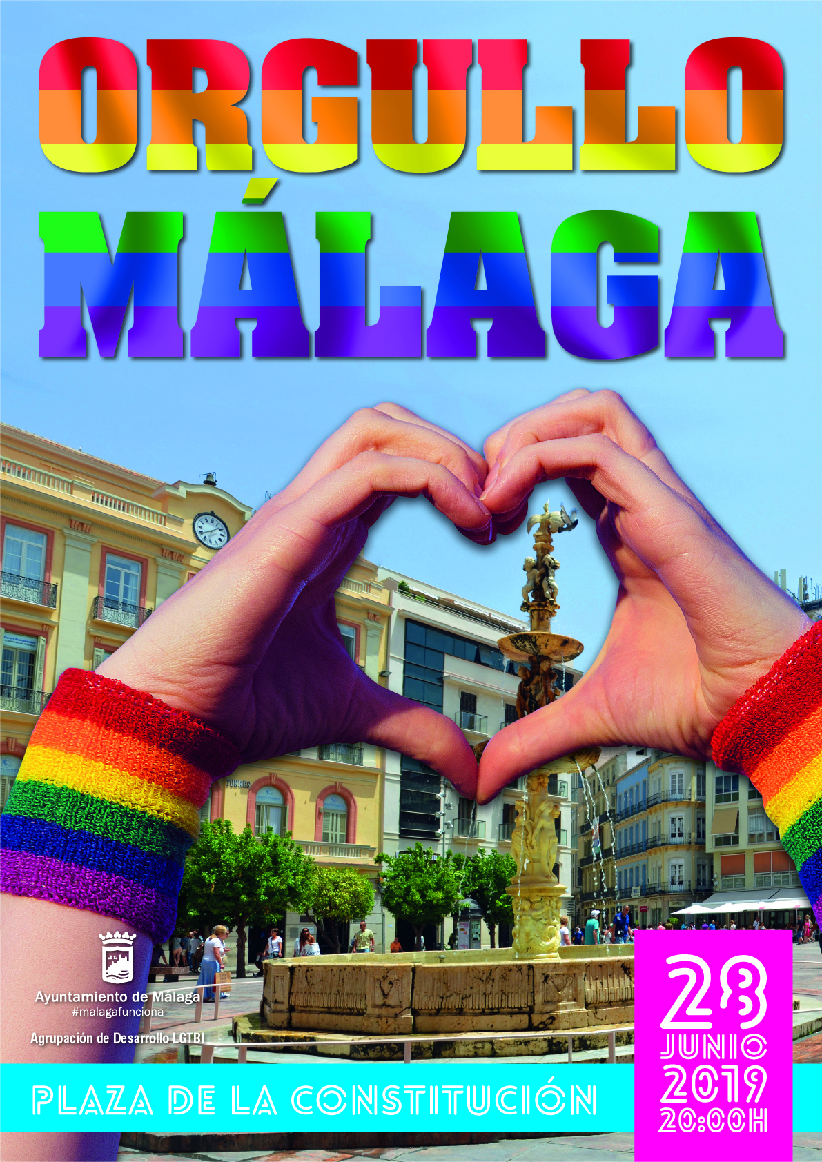 Orgullo Málaga 2019 - Pride LGTB Programación