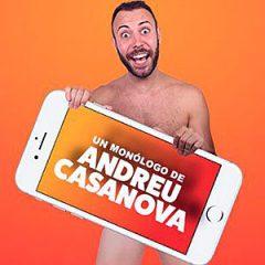 Andreu Casanova. Tinder sorpresa en Teatro Arlequín Gran Vía en Madrid