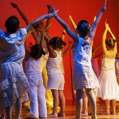 Campamento urbano de teatro musical de la Escuela de Nuevas Músicas en Hacienda de Pavones en Madrid