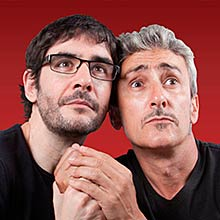 DOS (David Fernández y Juanra Bonet) en Box Cartuja en Sevilla