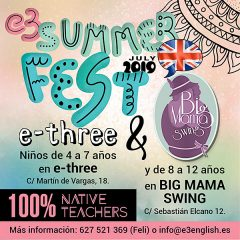 E3 Summer Fest'19 English Urban Camp en Martín de Vargas en Madrid