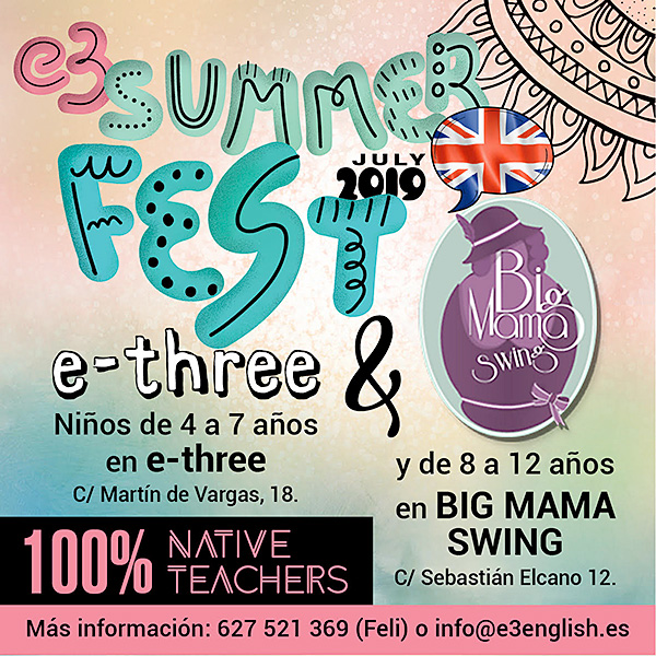 E3 Summer Fest'19 English Urban Camp en Martín de Vargas en Madrid