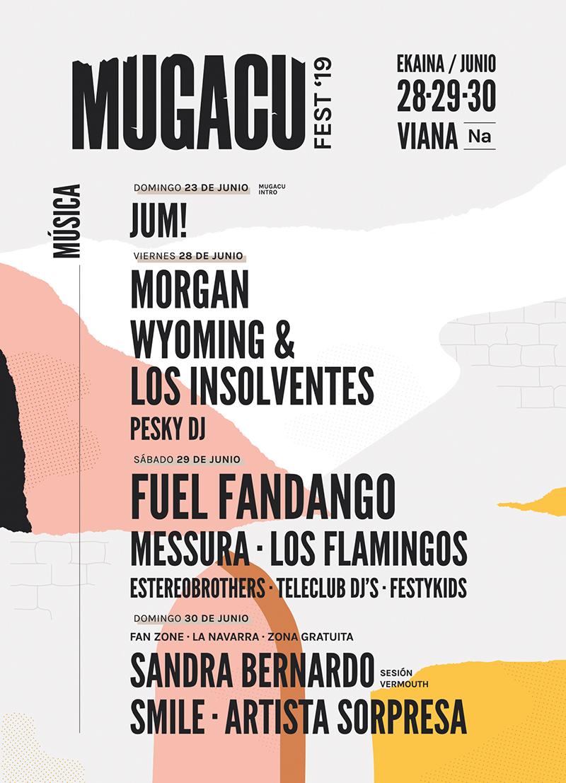 Mugacu Fest 2019, música, gastronomía y cultura en Viana