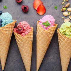 El placer del helado en verano