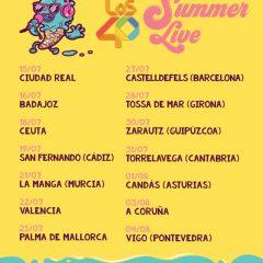 LOS40 SUMMER LIVE 2019, EL MEJOR REMEDIO CONTRA EL CALOR DEL VERANO