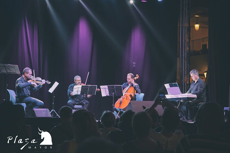 Cuarteto de la Sinfónica de Málaga en el Festival de Verano de Plaza Mayor 2019