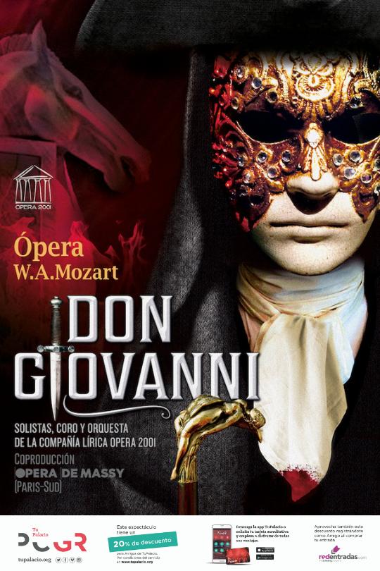 Don Giovanni de Mozart llega a Granada en Marzo