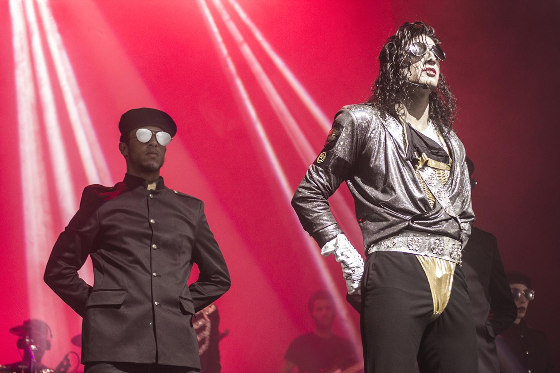 I Want U Back Homenaje a Michael Jackson en Estepona Málaga