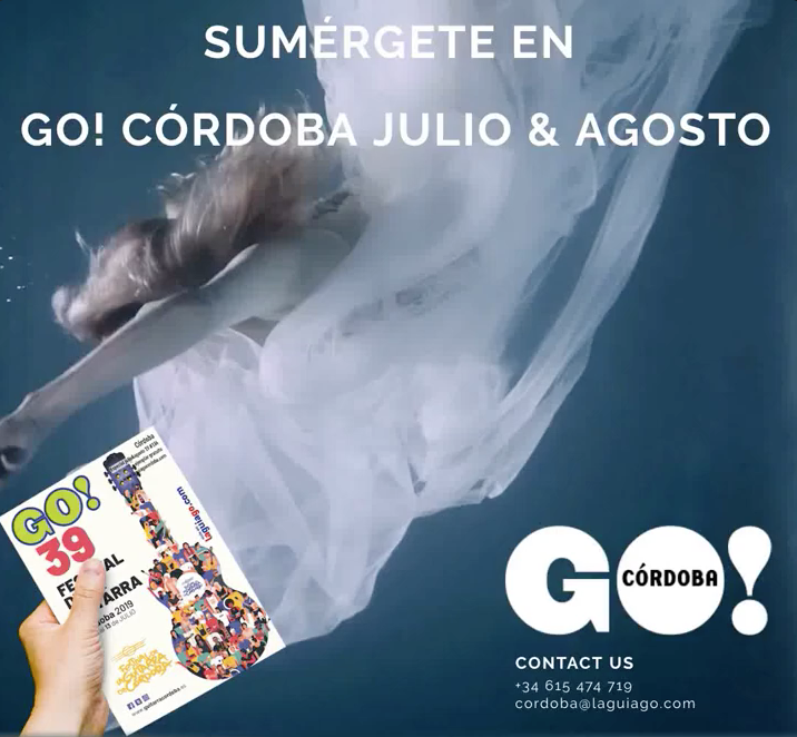 Aquí puedes leer online la Guía GO! CÓRDOBA Julio&Agosto 2019, planes y actividades en Córdoba y Provincia