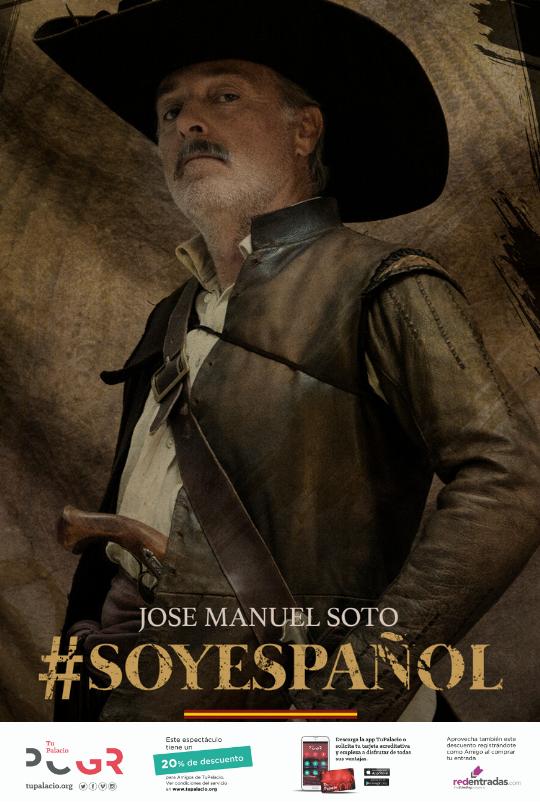 José Manuel Soto vuelve con #SOYESPAÑOL en octubre Palacio de Congresos Granada