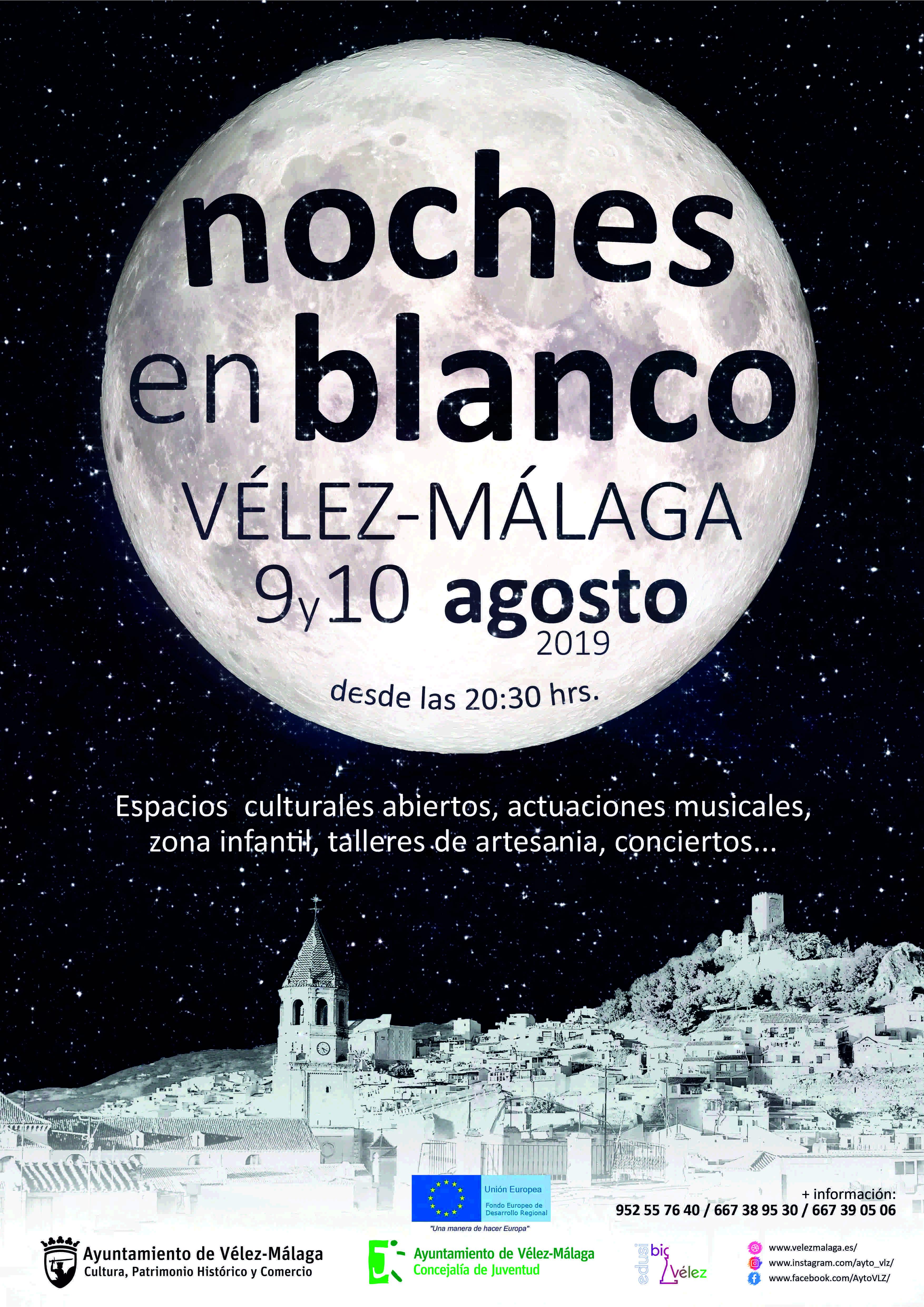 Noches en Blanco de Vélez-Málaga