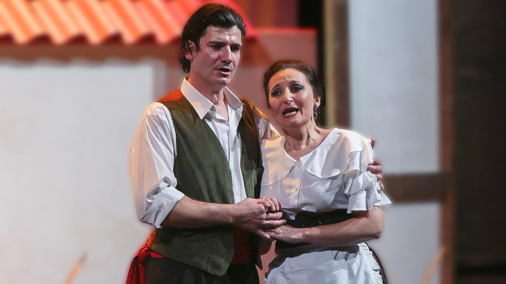 Rosa del Azafrán en el Teatro Cervantes de Málaga