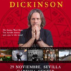 Una noche con Bruce Dickinson en Cartuja Center de Sevilla