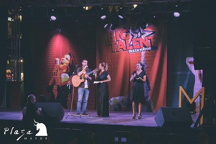 Big Talent cierra el Festival de Verano de Plaza Mayor 2019