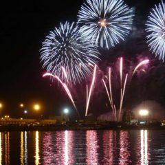Ciudad de la Luz Málaga – Un espectáculo pirotécnico para abrir la Feria 2019