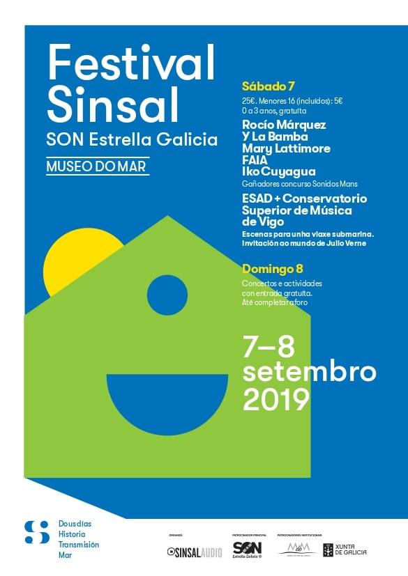 Sinsal Son Estrella Galicia, festival en el Museo do Mar de Vigo