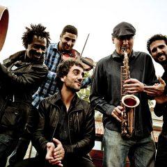 Sinouj en Raqueros del Jazz