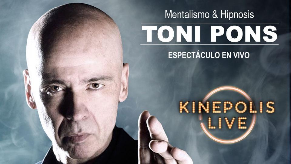Toni Pons vuelve a Kinépolis Granada