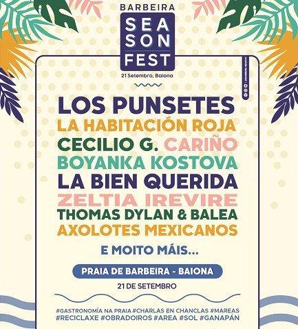Barbeira Season fest, festival en Baiona