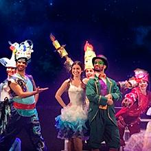 El mundo de fantasía en Teatro Cervantes en Almería