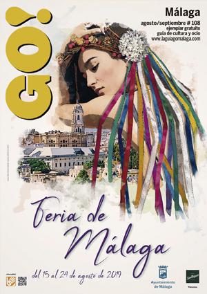 Guía del Ocio GO MÁLAGA Agosto-Septiembre 2019, planes y actividades en Málaga