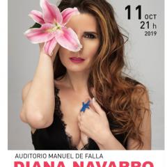 Diana Navarro presenta su gira Inesperado en el Manuel de Falla Granada