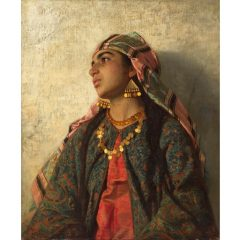 Exposición Fantasía árabe en el Museo carmen Thyssen de Málaga