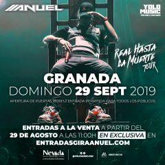 El rey del trap puertorriqueño ANUEL AA llega a Granada